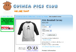 Guinea Pigs Club Online Shop and April Newsletter